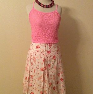 Dillards I.N. Studio Floral Skirt
